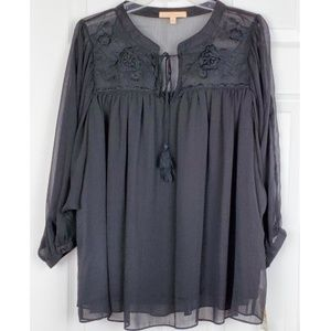 NWT Gibson Latimer tunic top size S [oversized]